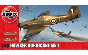 Airfix Hawker Hurricane Mk.1 1:48 Scale Plastic Model Plane Kit A05127A