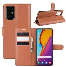 Samsung Galaxy S20 Plus Leather Wallet Case