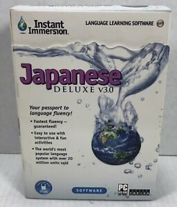 Topics Entertainment Instant Immersion Japanese Deluxe 3.0