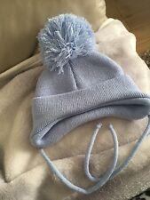 Sky Blue Winter Hat Newborn Size
