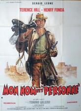 MY NAME IS NOBODY - FONDA / LEONE / HILL - ORIGINAL LARGE FRENCH MOVIE POSTER