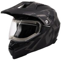 FXR Racing F20 Octane X Deviant Dual Shield Mens Winter Snowmobile Helmets