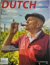 Dutch The Magazine Sept Oct 2016 High Wine in a Low Country FREE SHIPPING sb