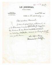 """LE CHRONIQUEUR MONDAIN MAURICE DE WALEFFE A L'ORIGINE DU CONCOURS """"MISS FRANCE"""""""
