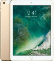 Apple iPad 6th gen with Wi-Fi+Cellular 128GB Gold *Renewed*
