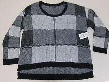 Fashion to Figure Plaid Crop Sweater - Womens 2 - NWT