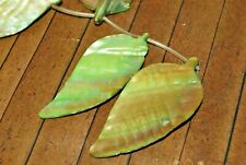 New 15 inch of large, leaf shaped shell beads - 50mm to 60mm- Was: $20  - A3937c