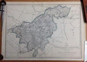 Northamptonshire (Northern Division); Original 1863; Cassells Dispatch Atlas