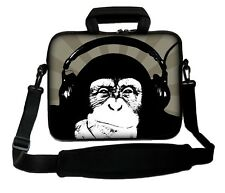 """LUXBURG 14"""" Inches Design Laptop Sleeve With Shoulder Strap & handle #GD"""