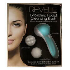 REVELE Electric Facial Cleansing Brush Set Face Body Exfoliating Skin Care NEW