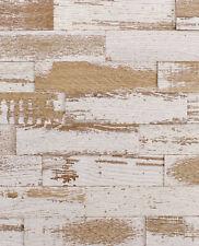 wodewa Holz Wandverkleidung EICHE, Vintage Shabby Look Holzpaneele  3D