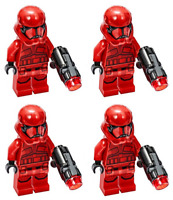 LEGO Star Wars 75266 - 4 x Sith Trooper GENUINE Minifigure Figure!