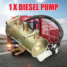 12V FACET RED TOP STYLE FUEL PETROL PUMP KIT UNIVERSAL ELECTRIC FOR DIESEL