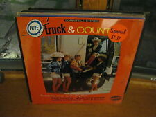 Pure Truck & Country Truck driving vinyl LP Nashville Sealed Red Sovine Ray King