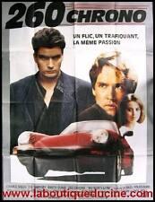 260 CHRONO PORSCHE 911 Affiche Cinéma Originale / Movie Poster CHARLIE SHEEN
