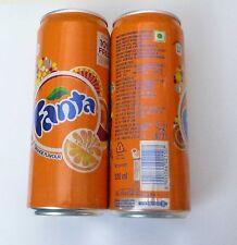 FANTA ORANGE Coke Cola can INDIA Orange 330ml Tall 2012 Soda Collect