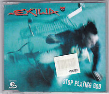 EXILIA - STOP PLAYING GOD 3 TRACK MAXI CD NEU! & OVP!
