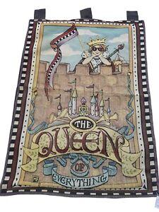 804 - Beautiful Handmade Fine Wool Needlepoint Tapestry Wall Hanging.