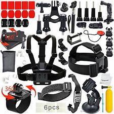 40-In-1 Essentials Accessories Kit GoPro Hero 4/3+/3/2/1 Session Hero LCD Black