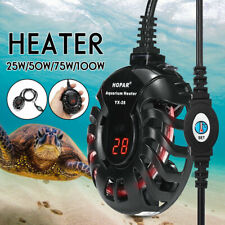 Mini Aquarium Heater Fish Tank LED Digital Submersible Adjustable Thermostat