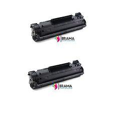 2 x Toner compatible Non oem  HP CF283A Hp 83A MFP MFP M128fw / M201 / M225MFP
