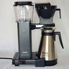 Technivorm Moccamaster KBGT Coffee Maker, 40 Ounce, Stone Grey, Minor Defects