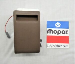 1971 72 73 74 B body Charger Road Runner GTX Satellite dash ash tray set brown