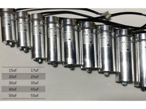 Run Capacitor w screw CBB65 500V with cable JIEKEDA (JKD); (40℃~70℃); BRAND NEW