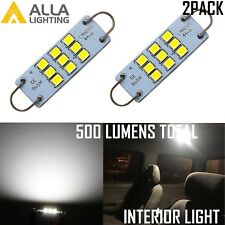 Alla Lighting 9-LED 561 Interior Dome Map Courtesy Loop Light Bulbs Lamps, White