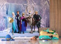 Disney Papier Peint Mural Mur Enfants Chambre Reine des Neiges Elsa Olaf Premium