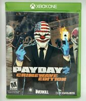 Payday 2 Crimewave Edition XBOX OME Video Game