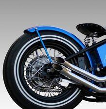 150mm Fender Alu Harley umgebördelte Kante Motorradfender Schutzblech  Bobber