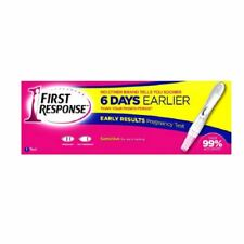 First Response Early Results Pregnancy Test 1 Per Pack New