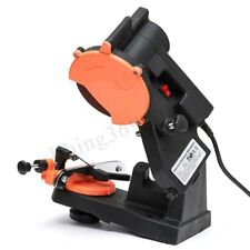 4800RPM 220V 80W Chainsaw Sharpener Chain Saw Electric Mount Grinder Wheel Tools