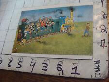 Kennett Neily Postcard: Dubout en Train 1952 purchased 1984,