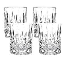 Nachtmann Whiskybecher Noblesse (4er Set) Gläser Tumbler Whiskyglas Whiskey
