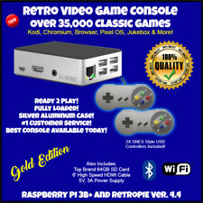 RetroPie Gaming Console Raspberry Pi 3B+ Over 35,000 Games, Ready To Play!