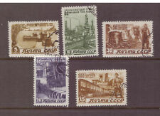 Russia USSR 1946 Five Year Reconstruction Plan   used CTO stamps