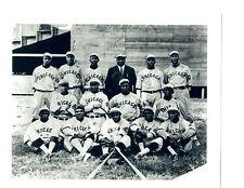 1919 CHICAGO AMERICAN GIANTS NEGRO LEAGUES TEAM 8X10  PHOTO BASEBALL HOF USA