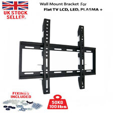 TV Wall Bracket Mount Tilt Swivel Plasma 26 30 40 42 46 50 52 63 Inch LG SONY UK