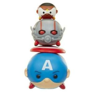 Marvel Tsum Tsum 3 Pack Series 1 Captain America Ant-Man Falcon