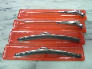 """0080-Austin Classic Mini New 10"""" 5.2mm Sainless Steel Wiper Blade & Arm Set"""