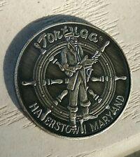 VINTAGE 1978-TOKEN-MEDAL-TORTUGA RESTAURANT-HAGERSTOWN, MARYLAND