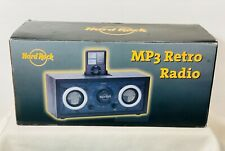 Hard Rock Limited Edition MP3 Retro Radio AM/FM Tuner Battery Powered MP3 Player