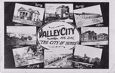 c1910 Multi Views of Valley City, North Dakota Real Photo Postcard