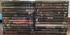 Horror / Thriller / Sci-fi Movie Dvd Lot (22 Plus)