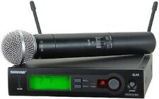 SHURE SLX24/SM58 SLX Wireless Handheld System with SM58 Microphone - #1 RATED!