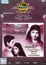 Madhumati. Film mit Dilip Kumar & Vijayantimala. Origanle Shemaroo DVD