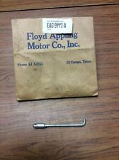 NOS 1952-1955 FORD THROTTLE ACCELERATOR FUEL LINKAGE ROD, BELLCRANK TO CARB