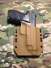 Coyote Tan Kydex SIG P226R Combat Threaded Barrel Holster